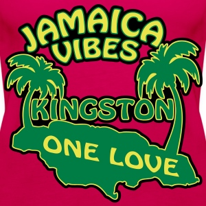 jamaica vibes kingston Top - Canotta premium da donna
