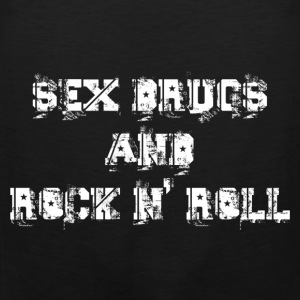 sex drugs and rock n' roll Tee shirts - Débardeur Premium Homme