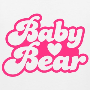 BABY bear cute family group  T-Shirts - Men's Premium Tank Top