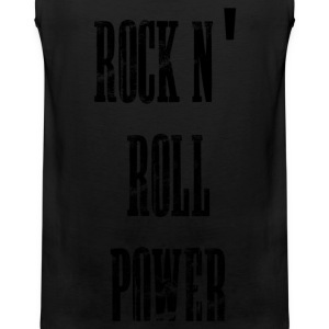 rock n' roll power T-shirts - Mannen Premium tank top
