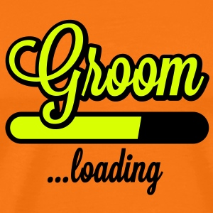 Groom loading | Stag Night T-Shirts - Mannen Premium T-shirt