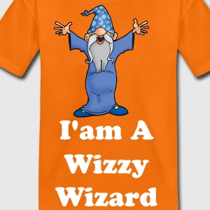 Hogwarts Wizzy Wizard - Teenage Premium T-Shirt