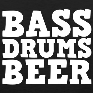 Bass Drums and Beer Tee shirts - Débardeur Premium Homme