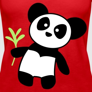 Panda Save me Tank Top China - Women's Premium Tank Top