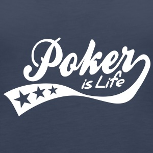 poker is life - retro Topper - Premium singlet for kvinner