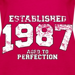 Geburtstag - established 1987 - aged to perfection - Frauen Premium Tank Top