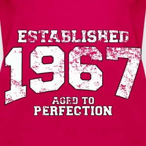 established 1967 - aged to perfection (uk) Tops - Women's Premium Tank Top