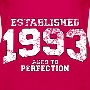 established 1993 - aged to perfection (uk) Tops - Women's Premium Tank Top