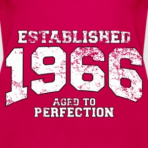 established 1966 - aged to perfection (uk) Tops - Women's Premium Tank Top