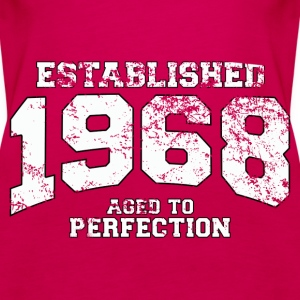 established 1968 - aged to perfection (uk) Tops - Women's Premium Tank Top
