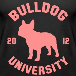 BULLDOG UNIVERSITY  Tops - Vrouwen Premium tank top