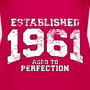 established 1961 - aged to perfection (fr) Débardeurs - Débardeur Premium Femme