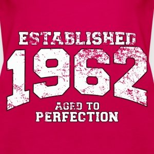 established 1962 - aged to perfection (uk) Tops - Women's Premium Tank Top