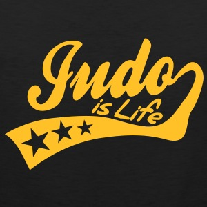 judo is life - retro T-shirts - Mannen Premium tank top