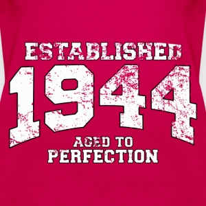 established 1944 - aged to perfection (uk) Tops - Women's Premium Tank Top
