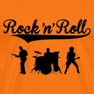 rock'n'roll band design Tee shirts - T-shirt Premium Homme