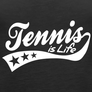tennis is life - retro Topper - Premium singlet for kvinner