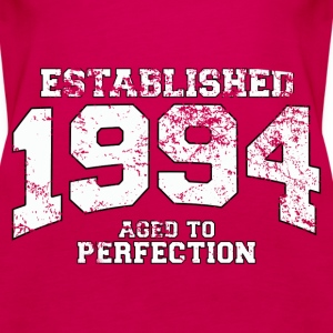 established 1994 - aged to perfection (uk) Tops - Women's Premium Tank Top