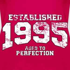 established 1995 - aged to perfection (fr) Débardeurs - Débardeur Premium Femme