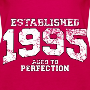 established 1995 - aged to perfection (uk) Tops - Women's Premium Tank Top