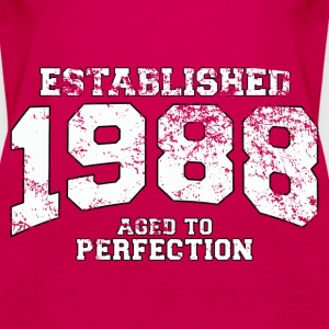 Geburtstag - established 1988 - aged to perfection - Frauen Premium Tank Top