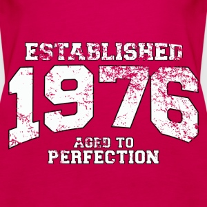 Geburtstag - established 1976 - aged to perfection - Frauen Premium Tank Top