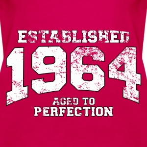 established 1964 - aged to perfection (uk) Tops - Women's Premium Tank Top