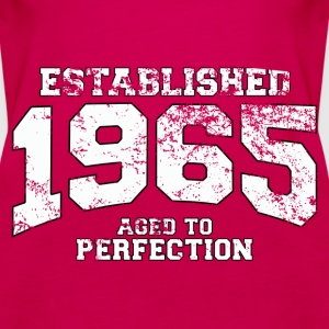 established 1965 - aged to perfection (fr) Débardeurs - Débardeur Premium Femme