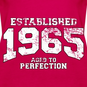 established 1965 - aged to perfection (uk) Tops - Women's Premium Tank Top