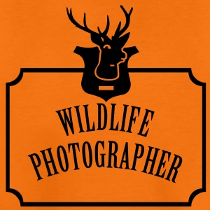 Wildlife Photographer (Text, 1c) Kinder T-Shirts - Teenager Premium T-Shirt
