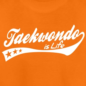 taekwondo is life - retro Kinder shirts - Teenager Premium T-shirt
