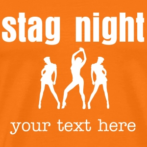 stag night T-Shirts - Men's Premium T-Shirt