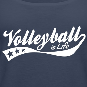 volleyball is life - retro Tops - Camiseta de tirantes premium mujer