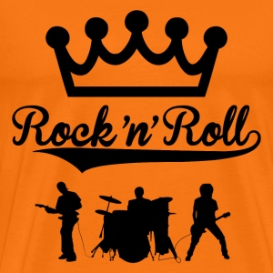 rock'n'roll band design 2 Tee shirts - T-shirt Premium Homme