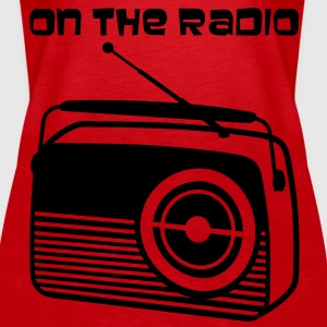 On the radio - Frauen Premium Tank Top