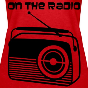 Old radio - Women's Premium Tank Top