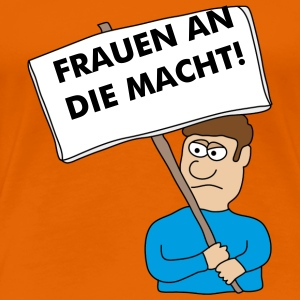 Protest T-Shirts - Frauen Premium T-Shirt