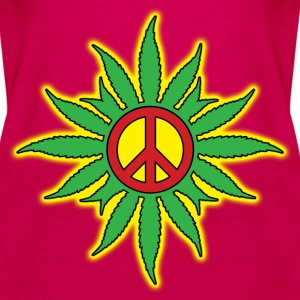 cannabis peace Tops - Vrouwen Premium tank top