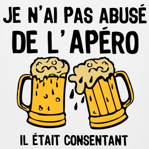 abuse alcool apero consentant1 Tee shirts - Débardeur Premium Homme