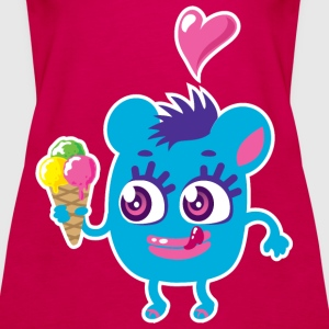 Monster Eis Tops - Frauen Premium Tank Top