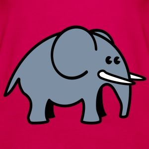 elephant Topper - Premium singlet for kvinner