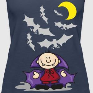 The Little Vampire and friends Topy - Tank top damski Premium