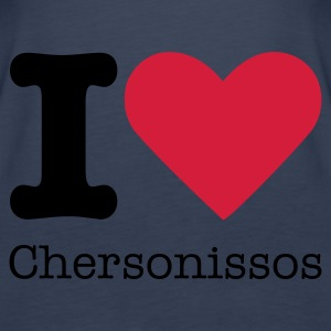 I Love Chersonissos Tops - Women's Premium Tank Top