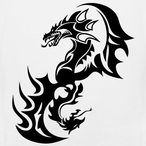 dragon tribal tattoo tatouage14 Tee shirts - Débardeur Premium Homme