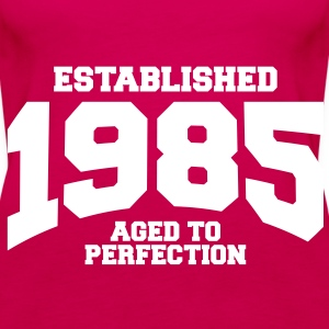 aged to perfection established 1985 (uk) Tops - Women's Premium Tank Top