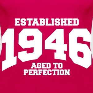 aged to perfection established 1946 (sv) Toppar - Premiumtanktopp dam