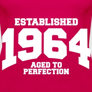 aged to perfection established 1964 (nl) Tops - Vrouwen Premium tank top