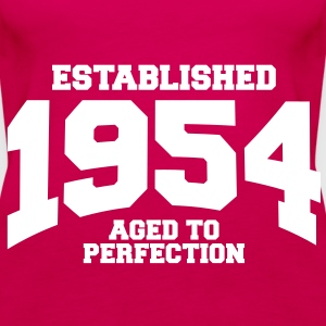 aged to perfection established 1954 (sv) Toppar - Premiumtanktopp dam