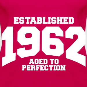 aged to perfection established 1962 (sv) Toppar - Premiumtanktopp dam
