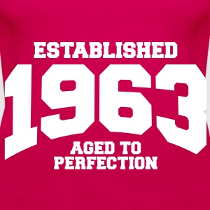 aged to perfection established 1963 (sv) Toppar - Premiumtanktopp dam